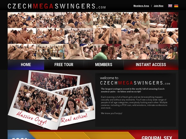 Czechmegaswingers Trial Membership $1