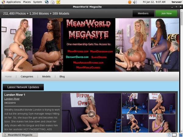 Meanworld.com Discount Members