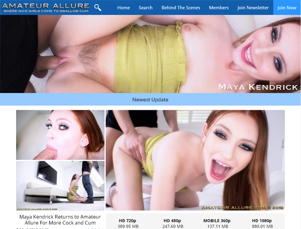 Amateurallure Site