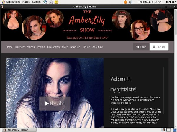 Get Amber Lily Show Deal