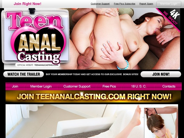 Teen Anal Casting Threesome