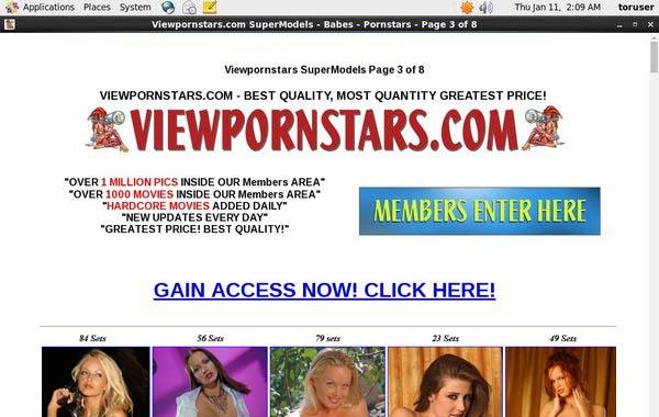 Free Account On Viewpornstars.com