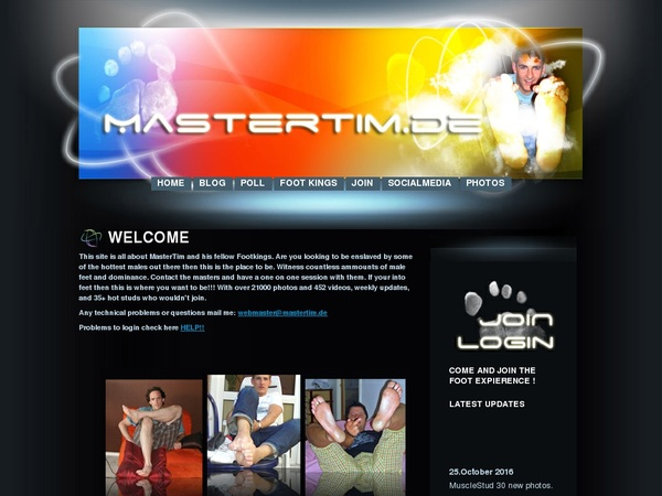 Mastertim.de Free Sign Up