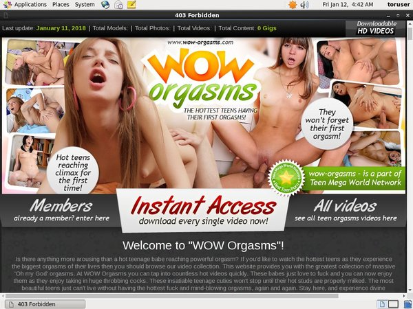Wow-orgasms.com Free Memberships