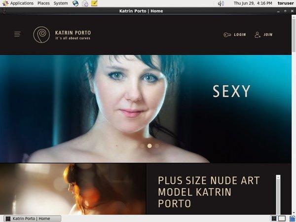 Katrinporto.com Sign Up Form