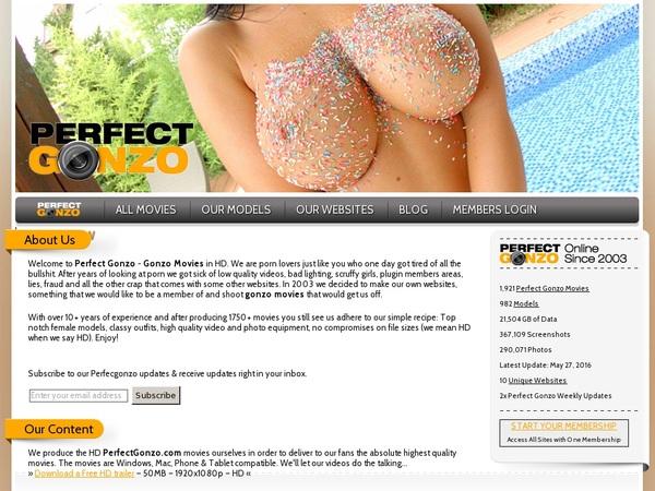 Perfectgonzo Membership Plan