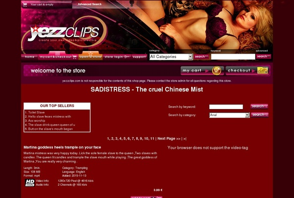 SadistressTheCrue Free Accounts And Passwords