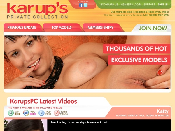 Collectionprivatekarups Sign Up