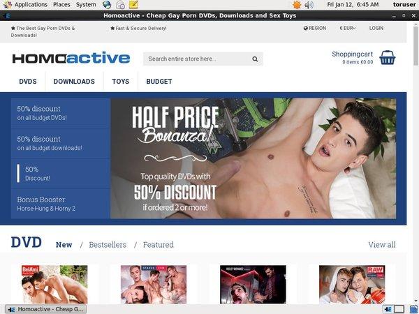Homoactive Discount Trial